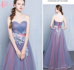 Cestbella Royal Blue Bridemaid Dresses Long Designer Wedding Guests Dress for Bridemaid Party Purple US  4