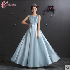 2017 Cestbella Elegant High Quality Custome Made Appliqued Bridemaid Wedding Dress Evening Light Green us  4
