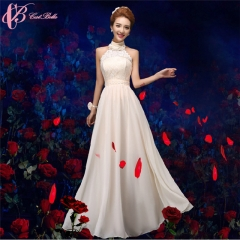 Cestbella Real Sample Beige Bridesmaid Chinese Wedding Dress Mother Of The Bride Pattern 2017 White us 4