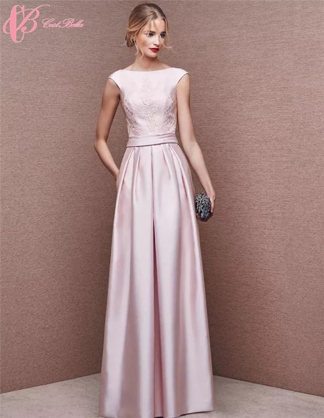Cestbella Elegant Pink A Line Cinderella Dress Party Dresses For