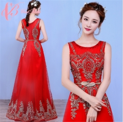 Cestbella Diamonds crystals A-line heavy beading Night Dress red formal Christmas dress Red us 4