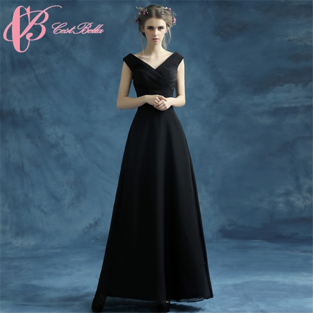 Kilimall: Cestbella Long Black Formal Evening Dress 2016 Elegant ...