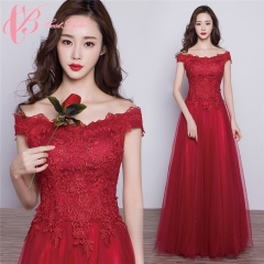 2017 Cestbella Fashion Red Night Evening Dress Sleeveless Long Maxi Elegant Lady Red Party Dresses Wine Red us 4