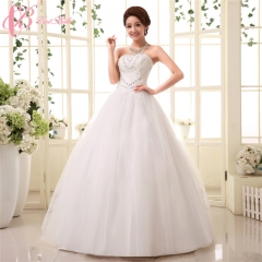 Lace Appliqued Off-shoulder Wholesale Cheap Concise Ball Gown Cestbella pure white us 4