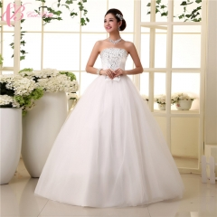 Sexy Red Off-shoulder Lace Appliques 2017 New Design Wedding Dress Cestbella pure white us 4