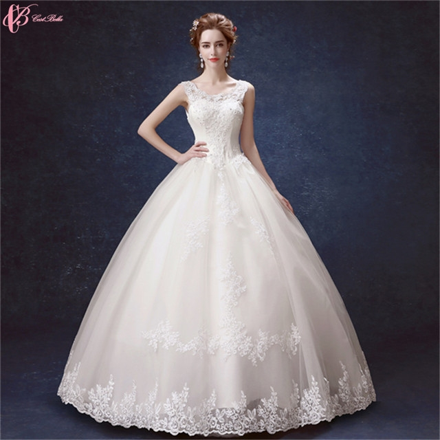 Kilimall: Lace Off Shoulder Bridal Dress Wedding Gown Pure White us ...