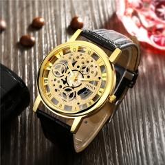 Men Full Stainless Steel Wrist Watch Golden Men Metal Watches Cestbella golden one size