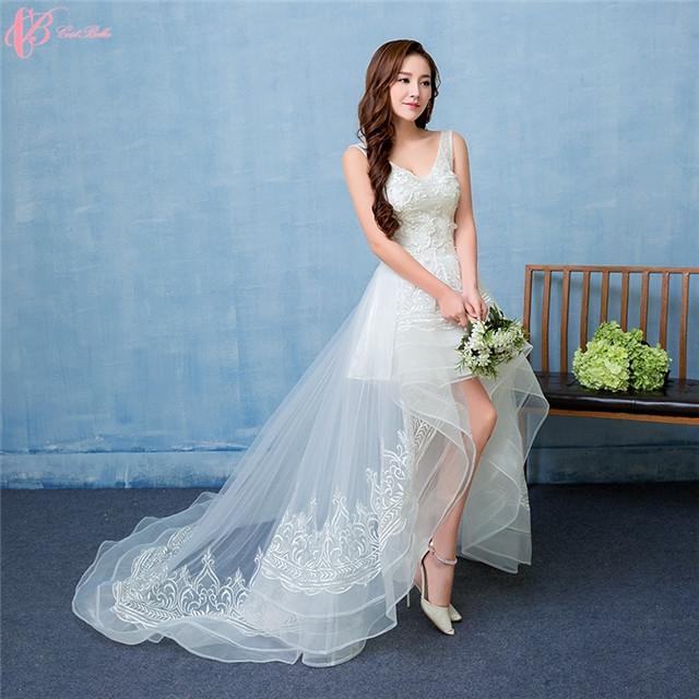 2017 luxury sexy wedding dresses under 100 lace applique with image image image junglespirit Choice Image