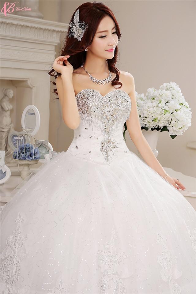 Kilimall: Plus Size Wedding Dress White Latest Designs Photos Ball ...