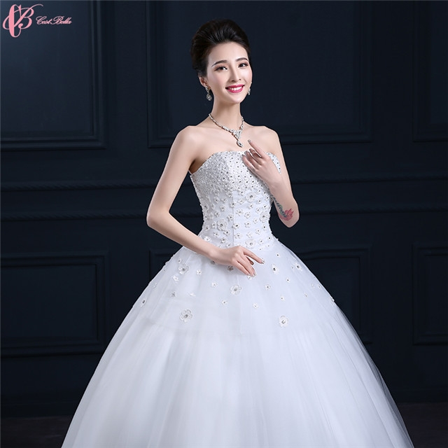 8e626dd354a 2017 Luxury Wedding Dresses Under 100 Crystal Ball Gown Wedding Factory  Dresses image image ...
