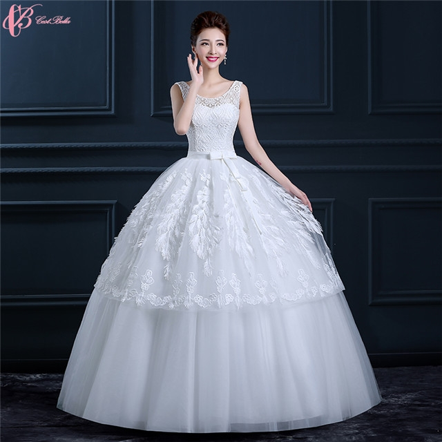 8573972b16d6 Guangzhou Factory Cheap Pure White Wedding Dresses Gowns Feather Decoration  image image ...