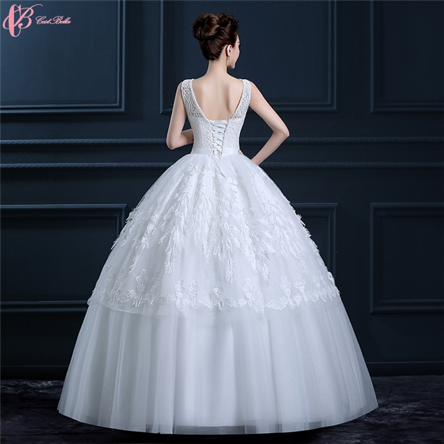 Kilimall guangzhou factory cheap pure white wedding dresses gowns guangzhou factory cheap pure white wedding dresses gowns feather decoration image image image image image image junglespirit Images