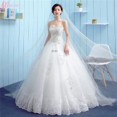 Suzhou Satin Wholesale Crystal Beaded Off Shoulder Wedding Dress pure white us 4