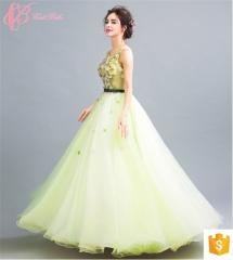 Gracious Light Green Ball Gown Princess Alibaba Evening Dress light green us 4