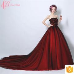 Wine Red Long Trailing Italian Design Raw Silk Maternity Evening Dress wine red us 4