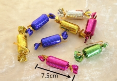 Colorful Mini Candies ChristmasTree Ornaments Hanging Decoration Pendant Party Decor (12 Pcs a Pack) random normal