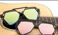 Women Fashion Beautiful Sunglasses Polarized Sunglass grey normal