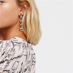 Cestbella Hot Sale Earrings for Women Jewellery Round Design Earring Ideal Christmas Gift Gold Normal