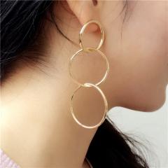 Cestbella Earring Fashion Earrings Set Cheap Studs for Women Female Gold Normal