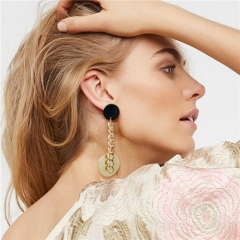 Cestbella Beautiful Earrings Elegant Earring Gold Plated Jewelry Gold Normal