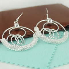 Cestbella Earrings Vingtage Style Fashion Jewellery Lady Gift Earring for Women Ideal Christmas Gift Silver Normal