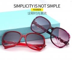 Women Fashion Eyewears Aluminum Multi-Color Sunglasses Eyewear purple frame normal