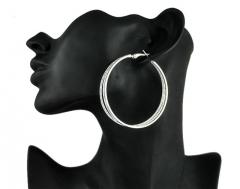 2017 Ladies Crystal Shining Big Earrings For Women Earring Fashion Jewelry Silver Cestbella golden plus size