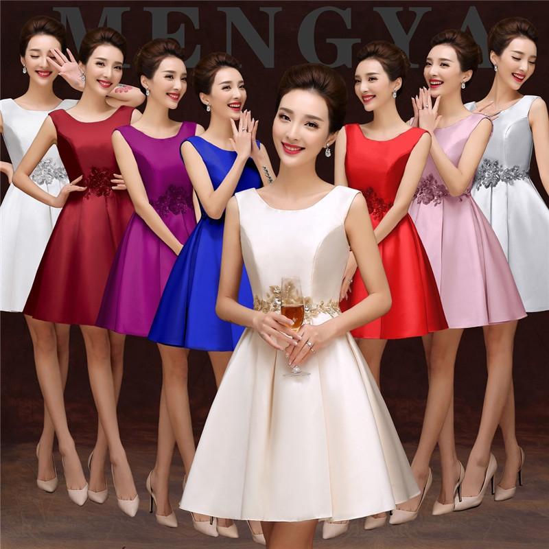 Cestbella High Quality Fashion Polyster Bridesmaid Dress Royal Blue Us 4