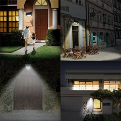 BuyInHouse all Light Bright Weatherproof Wireless Security Outdoor 32LED Lamp