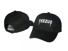 Fun Design Baseball Cap Saint Pablo Yeezus Logo Hip Hop Caps balck