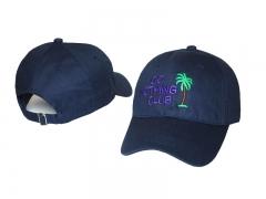 Unisex Do Nothing Club Cotton Flat Bill Baseball Cap Snapback Hat balck