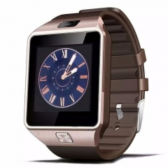 Smart Watch With Camera Bluetooth WristWatch SIM Card Smartwatch Ios Android Phones Gold 1