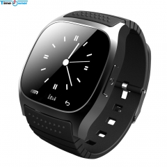 Bluetooth Smart Watch Android Wearable Devices Health Tracker SMS/Call Reminder Smartwatch black 1