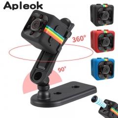 Mini Camera HD Camcorder Night Vision Mini Camera 1080P Sports Mini DV Voice Video Recorder black 1