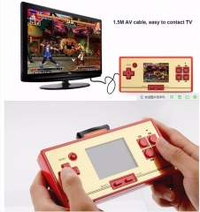 RS-20 children's game support TV output 2.6-inch color screen handheld video game console Big red button