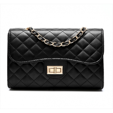 Joyism The Classic and Grace Single Shoulder Handbag .Black one size black f