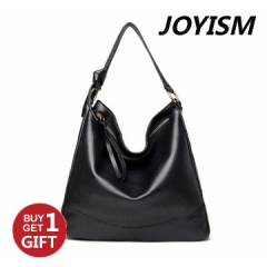 Joyism Handbag Classic Lady Handbag High Quality PU Totes ​Fashion Bag for women Black f