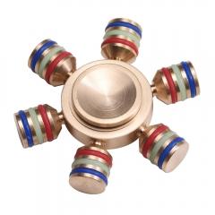 Hand Spinner Finger Spinner gyro Stress Reliever Pressure Reducer Fidget Focus Toys golden copper