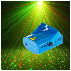 LED Stage Light Laser Projector, DJ Club Bar Strobe Light with Remote Control
