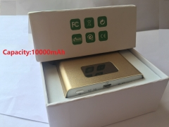 QKTK POWER BANK  10000mAh SILVER 10000