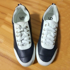 Casual Neutral Couple Sports Board Shoes Daily Simple Driving Flat Sole Shoes Running Shoes Deep biue 38