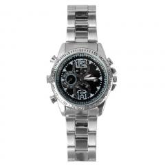 Easybuy Spy Wrist DV Watch 4G Video 1280x960 HiddenCameraDVRCamcorder (Silver) black S