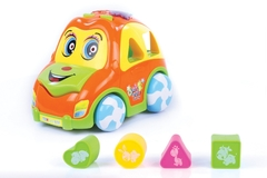 Kingkey-Learning Toys-Multi-car Music Learning Toys