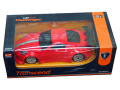 Sport Racing Transcend 1.22 Scale challenger Car for kids + Gift Toy plane