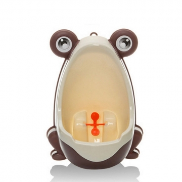 Frog Potty Toilet Children Training Kids Urinal for Boys Pee Trainer Bathroom Hanging & Stand Up coffee ONE SIZE