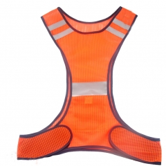 Reflective Safety Vest  High Visibility for Adults Children with Pocket 1 orange