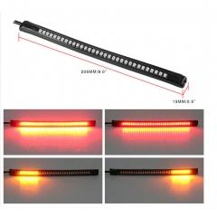 LED Brake Turn Signal Light Strip Tail Light for Flexible Motorcycle Trucks, cars, vans, motorcycle