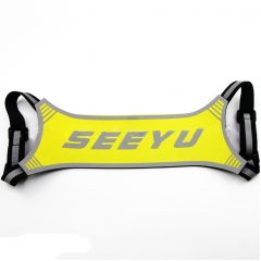 Reflective Belt Vest for Running Cycling Dog Walking Jogging Sports Gear Safety Vest 1 yellow