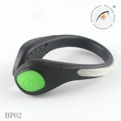 Glowing  Shoe Clip LED Lights Clip for Running Cycling Dog Walking Jogging Sports Gear black sh blue li 1