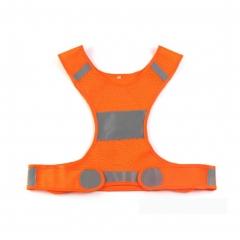 Reflective Vest for Running Cycling Biking Dog Walking Jogging Sports Gear Safety Vest 1 orange